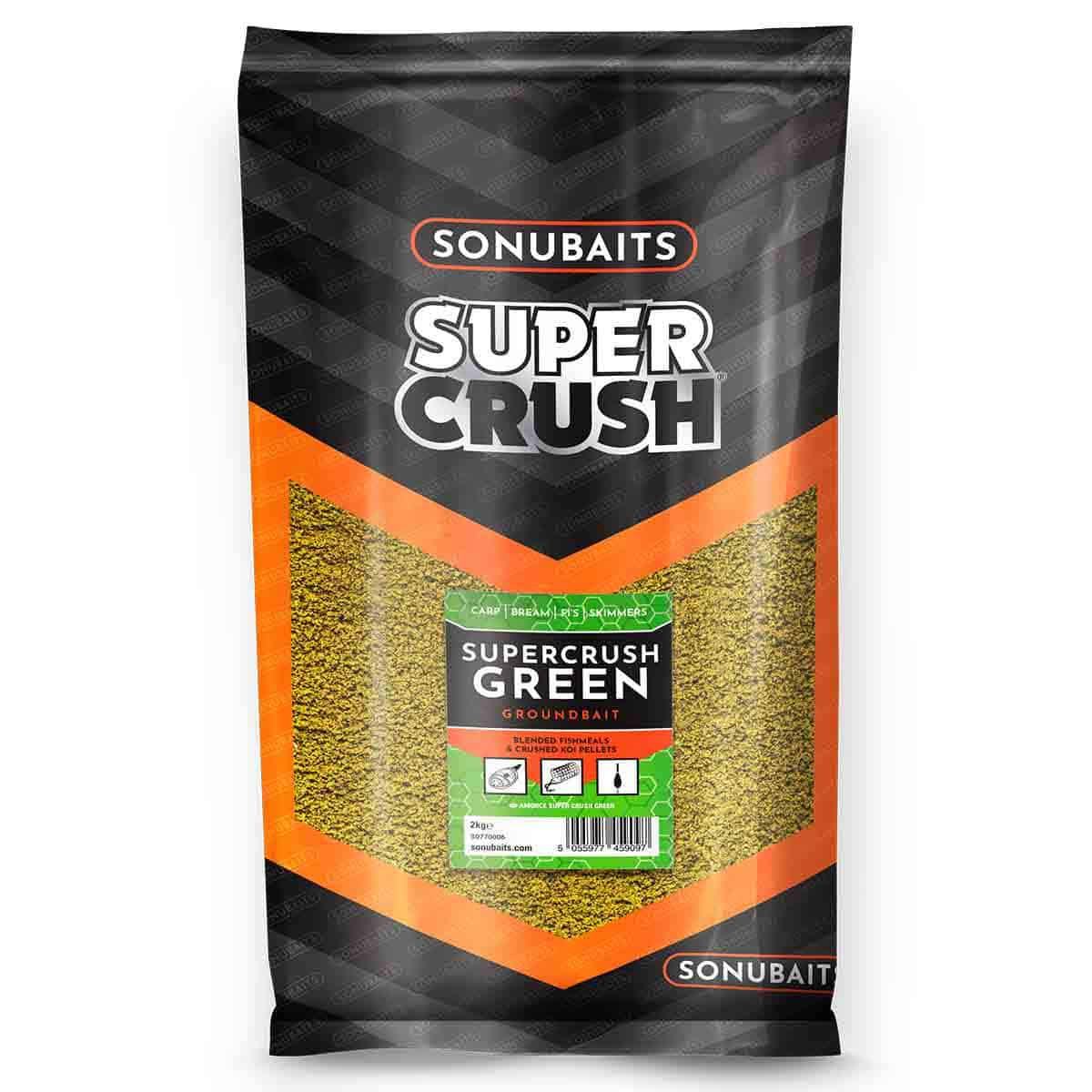 Sonubaits Supercrush Green Groundbait