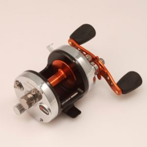 Akios Shuttle 651 SCM LEFT HAND Multiplier Reel