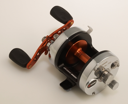 Akios Shuttle 656 SCM Multiplier Reel