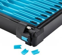 Map Winder Tray Indicators