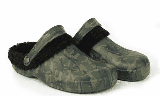 Fox Chunk Camo Fleece Clogs