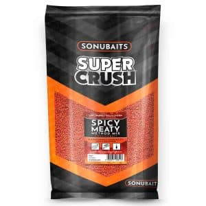 Sonubaits Supercrush Spicy Meaty Method Mix