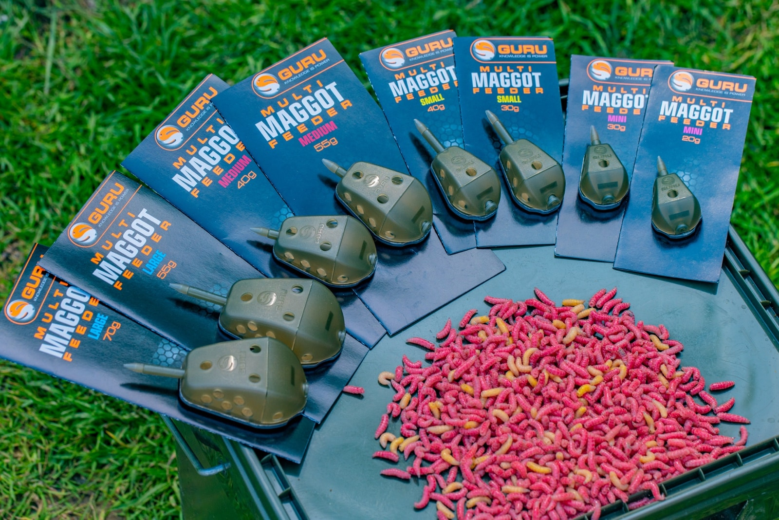 Guru Multi Maggot Feeders