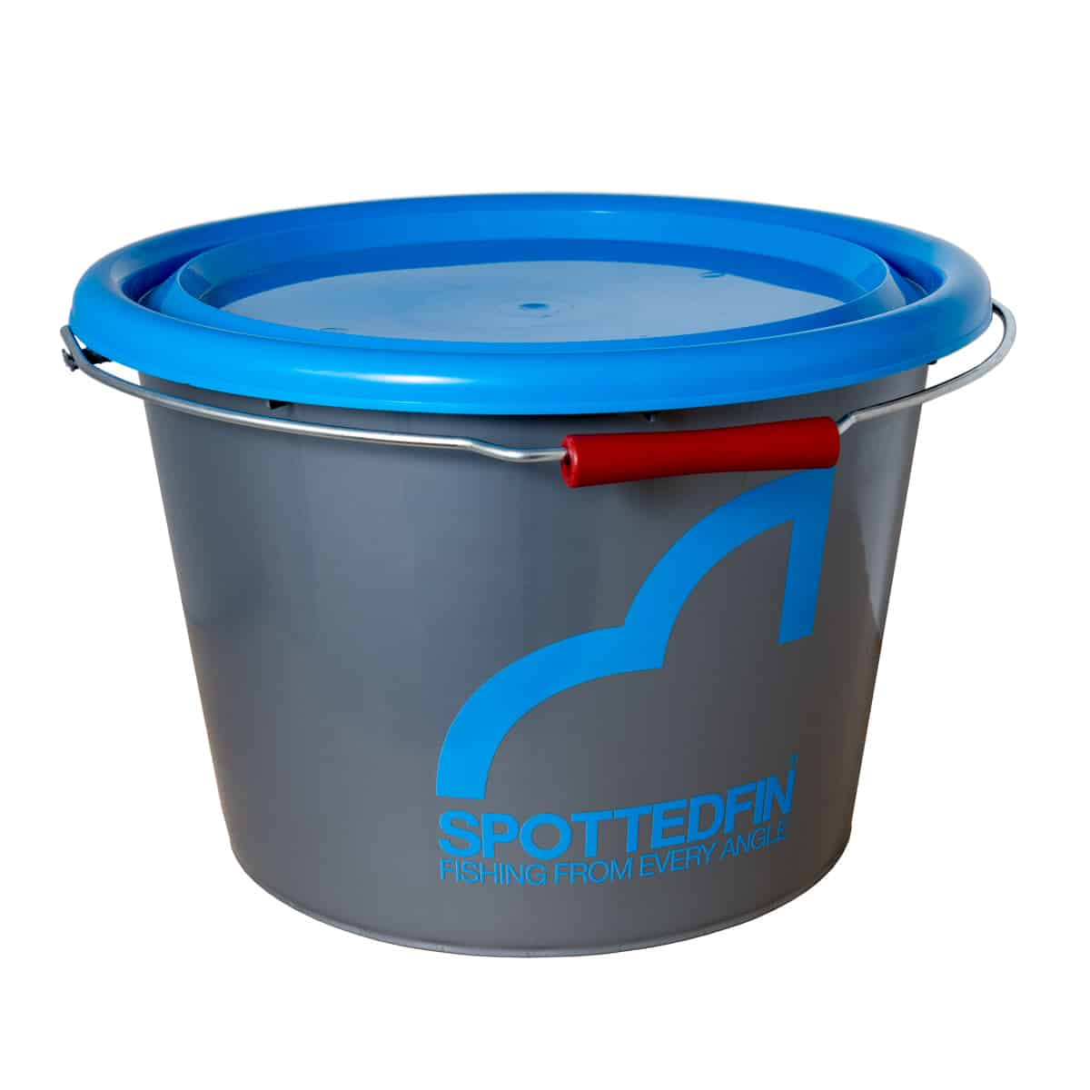 Spotted Fin 18L Bucket With Lid